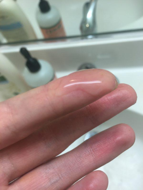 exfoliation serum close up